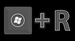 Windows Key Plus R Key